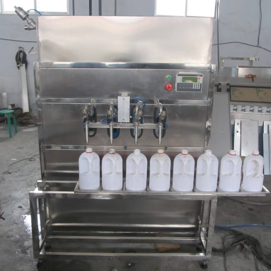 Custom Semi Automatic Liquid Filling Machine For Beverage Water