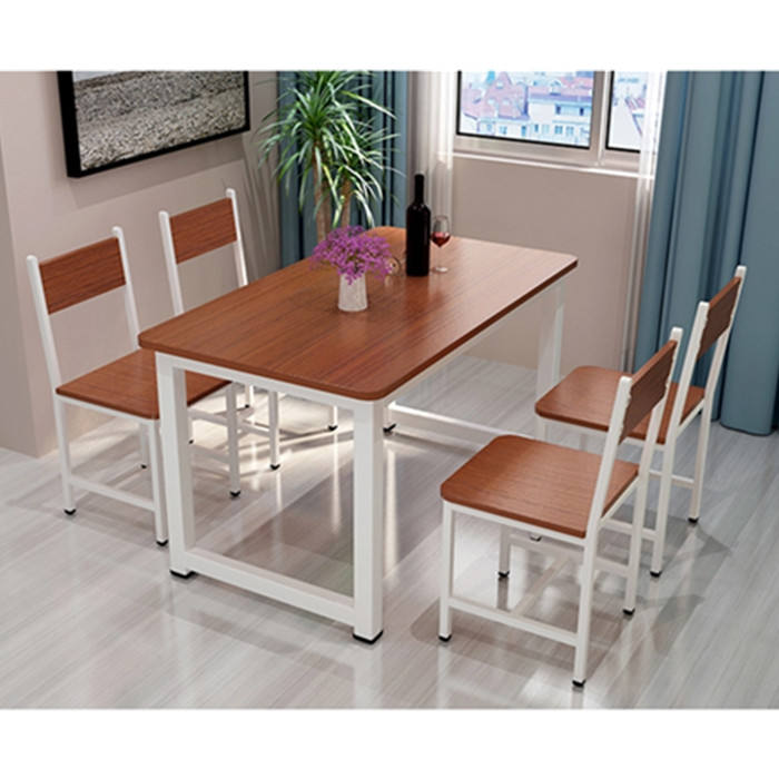 Good Quality Dinning Set MDF/MFC Wooden Dining Table And Chairs