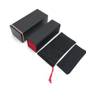 Foldable rectangle sunglasses case folding sunglasses case