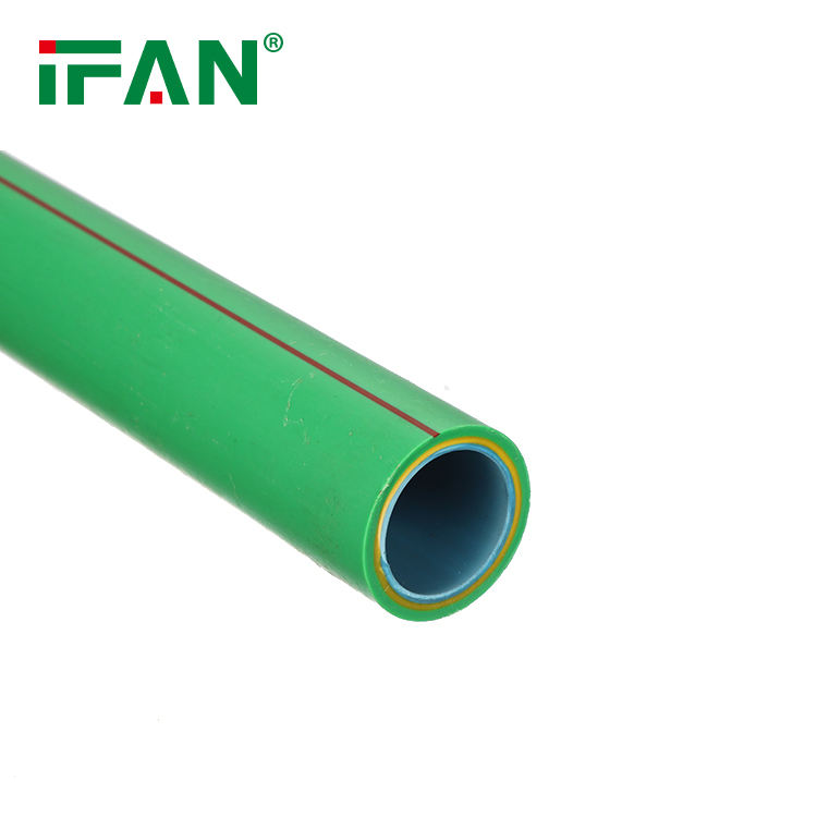pressure PN20 25 all size of ppr pipe PPR Fiber-Glass Composite price list ppr fittings green color well bond