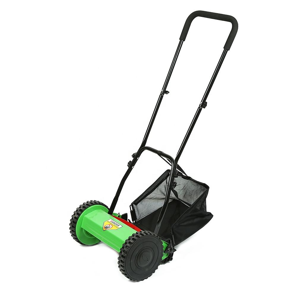 Factory wholesale cordless mower lawn, custom durable manual grass cutting machine, cheap price Iron hand push lawn mower