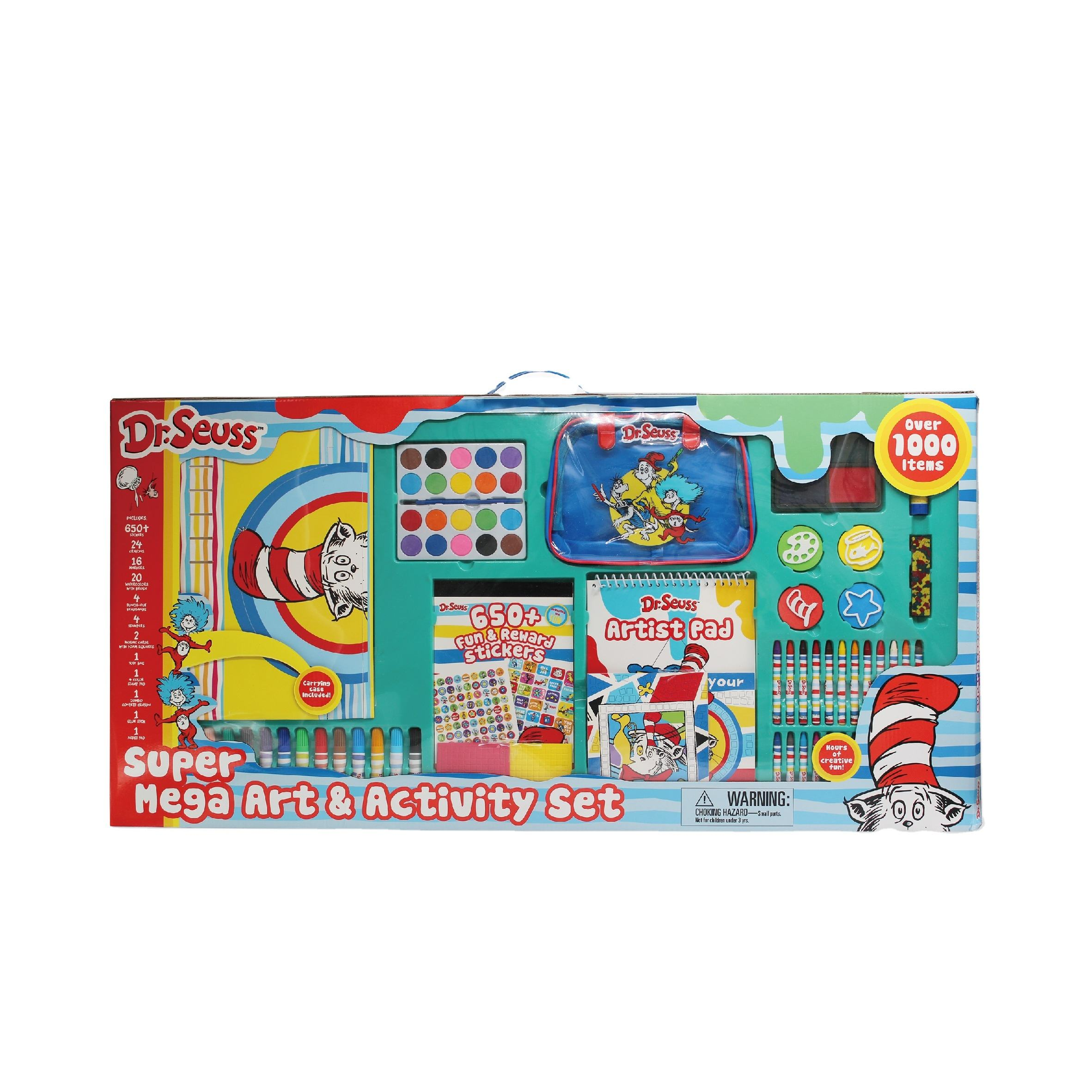 Coloring Value Deluxe Kids Art Set Stationery Set Super Mega Art and Activity Set