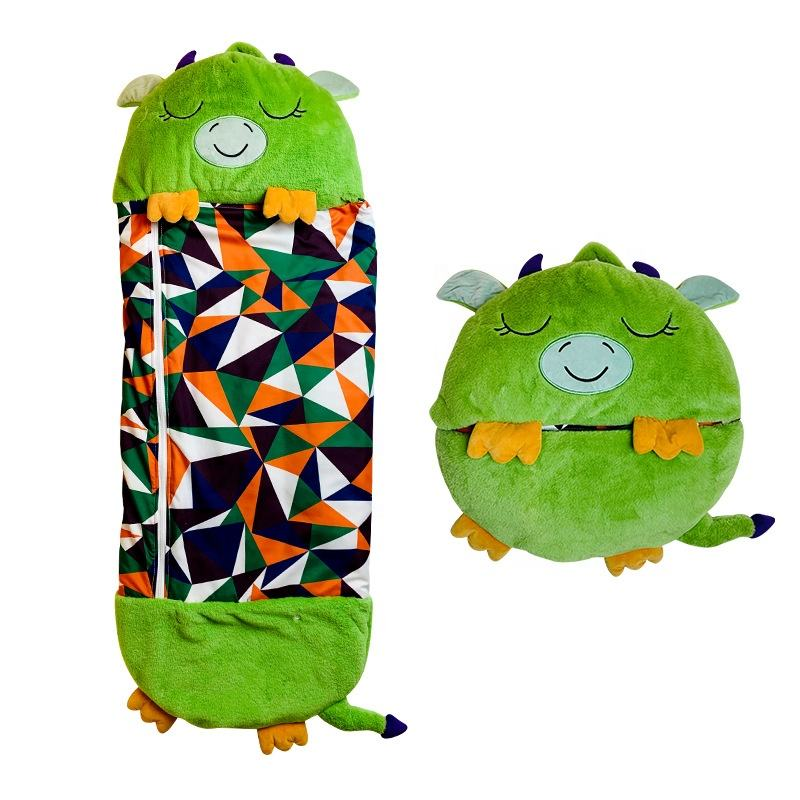 Happy Nappers Explosive Children's Animal Sleeping Bag