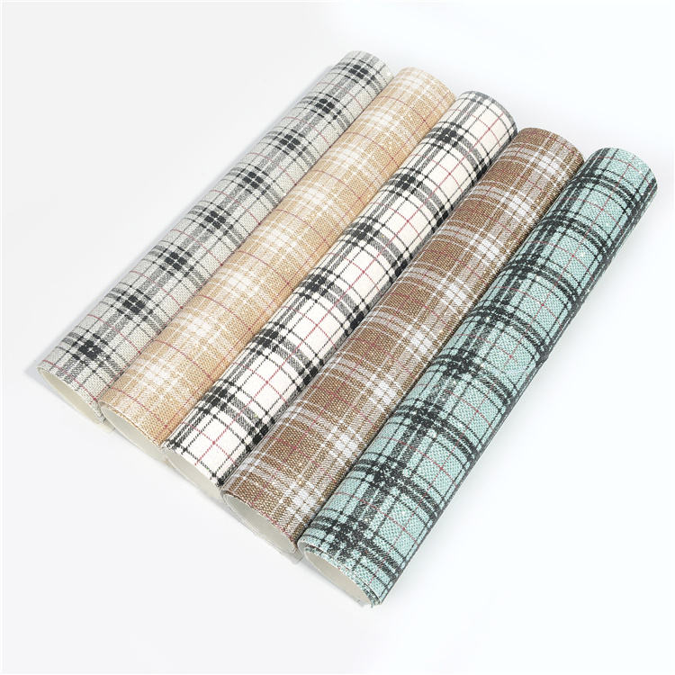 plaid cloth fine eye net glitter leather per yard color pattern customized wholesale price free sample