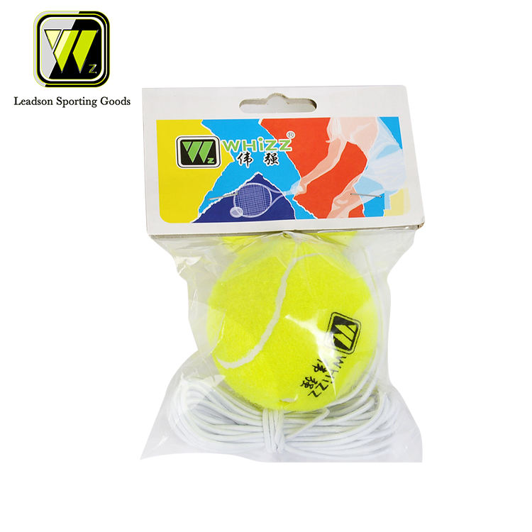 WHIZZ manufacturer training tennis ball with nylon rope