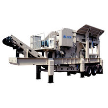 High Efficiency Small Mobile Stone Crusher Plant/mini Mobile Jaw Crushing Station