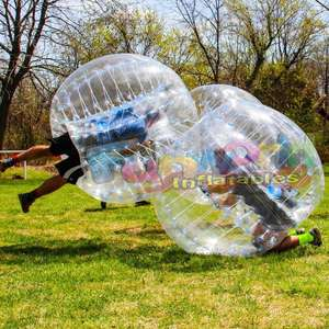 Inflatable Bubble soccer ball Inflatable TPU zorb ball cheap zorbing ball for sale