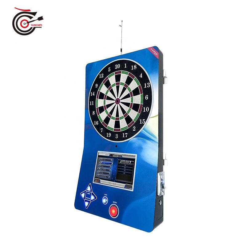 2020 manufacturer supplied international standard coin operated soft tip electronic dart machine