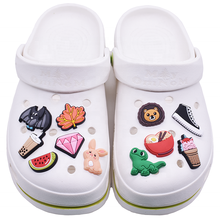 New Arrival Rubber PVC Shoe Charms Customized Clog Shoe Charms Shoe Decoration for Kids