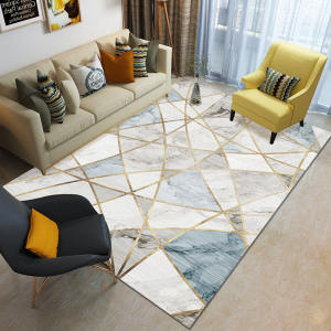 Natural Style Commercial Floor Carpet for Hotel Room rose rugs Soft Kids Playing Rugs