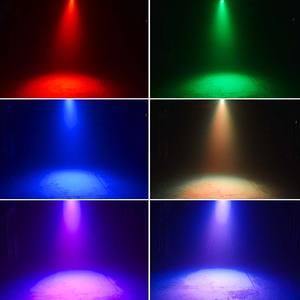 สีสัน RGB DMX LED 18 PCS 11W ดิสโก้ LED PAR PAR LED LIGHT