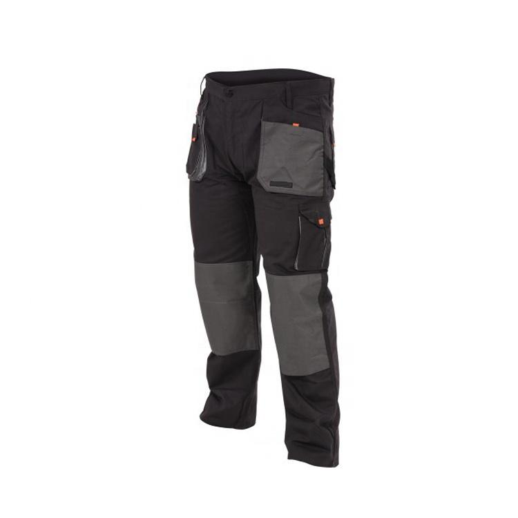 Hardwearing cordura patching work pants professional men work wear construction industrial male trousers