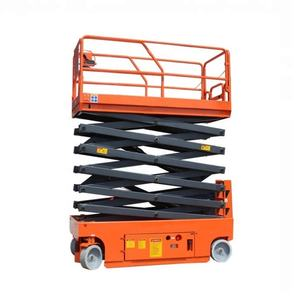 Small Mini Self Propelled Electric Hydraulic Scissors Lift Platform