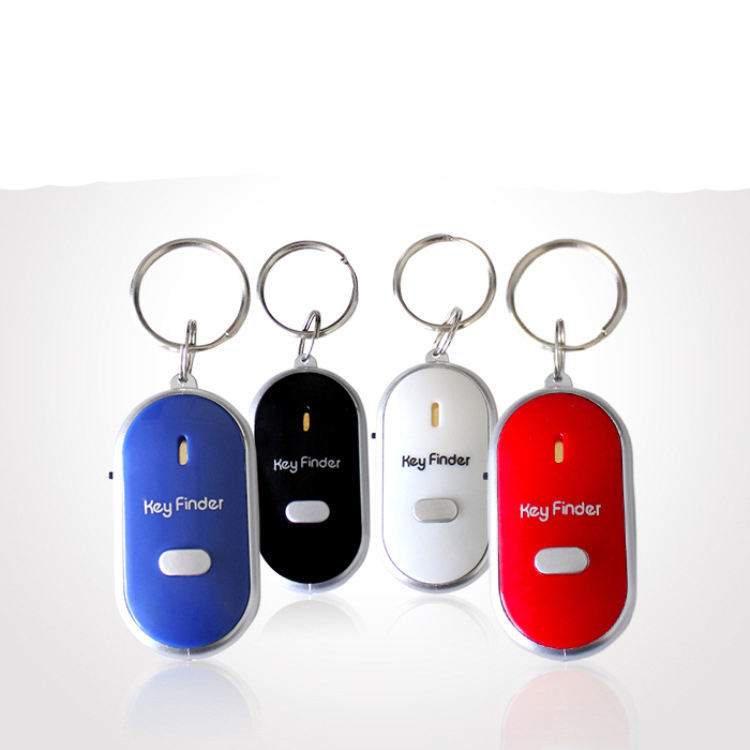 The latest portable smart electronic key whistle finder anti-lost tracker small key finder