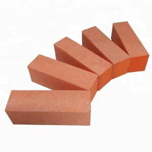 Disposable 3 sides 80/80/100 nail buffer block sanding block for spa nail care 500pcs/case