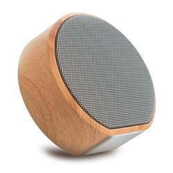 New cute color Usb subwoofer high volume wooden bamboo table PC small mini wireless portable bluetooth speaker