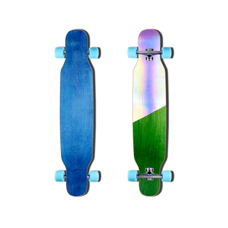 Longboard professional brush street ride board dance board dance plus maple material skateboard