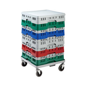 High Quality Warehouse Glass Rack Drinking Glass Storage Rack Nsf Approved Plastic 20 Base Rack For Hotel