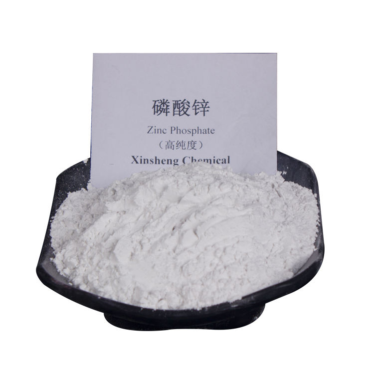 Zinc phosphate antirust pigments can be used to produce water-soluble paints.