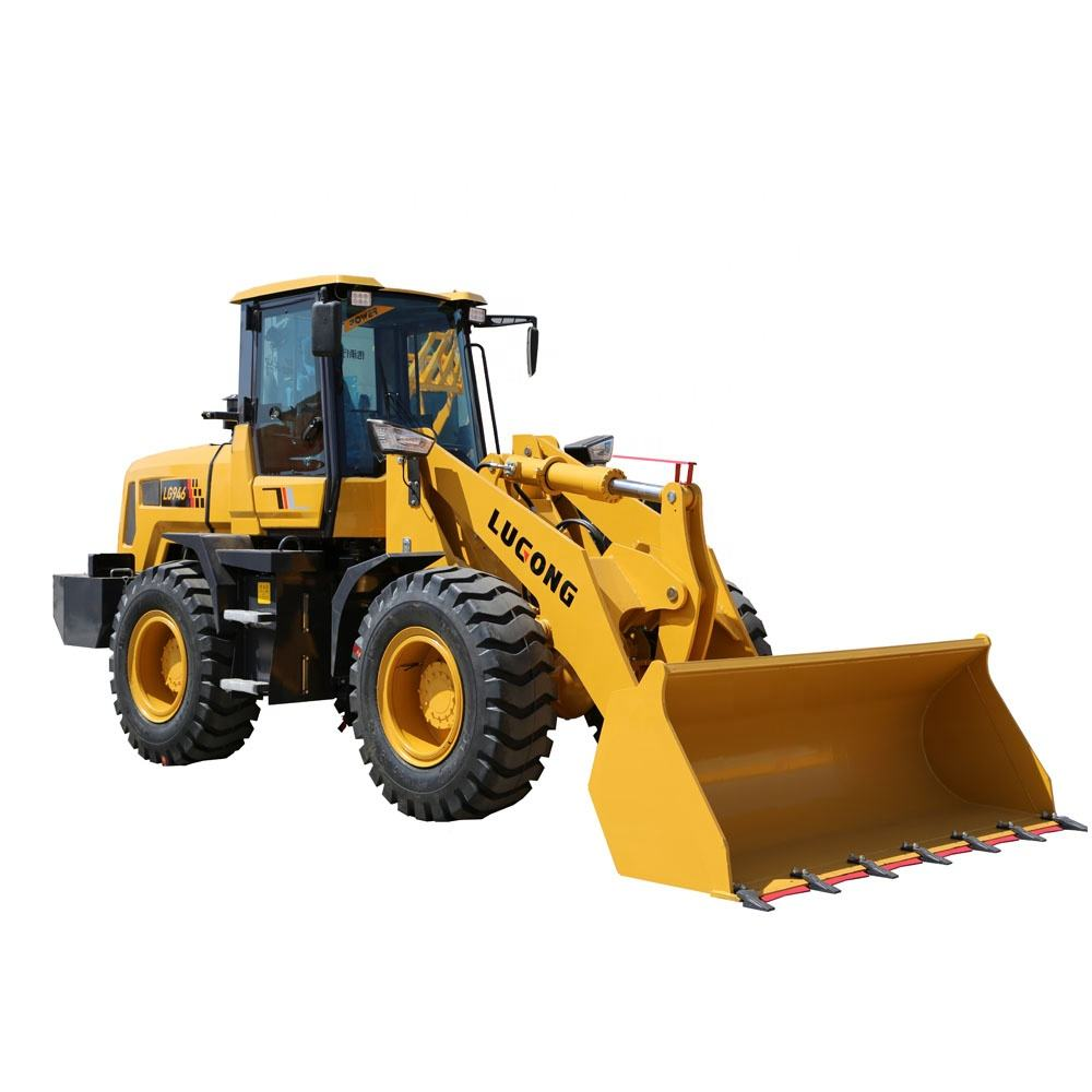 Shandong Lugong LG946 Wheel Loader with Loader Excavatrice