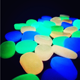 Glow in the dark pepples stones for fish tank vase garden walkways