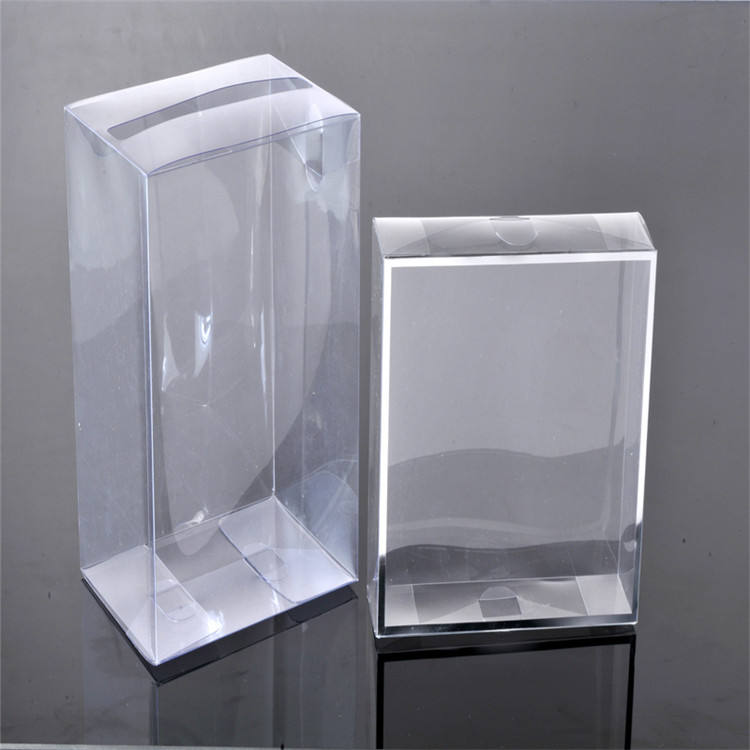 Custom PET/PP box clear fold packing plastic gift box for OEM factory