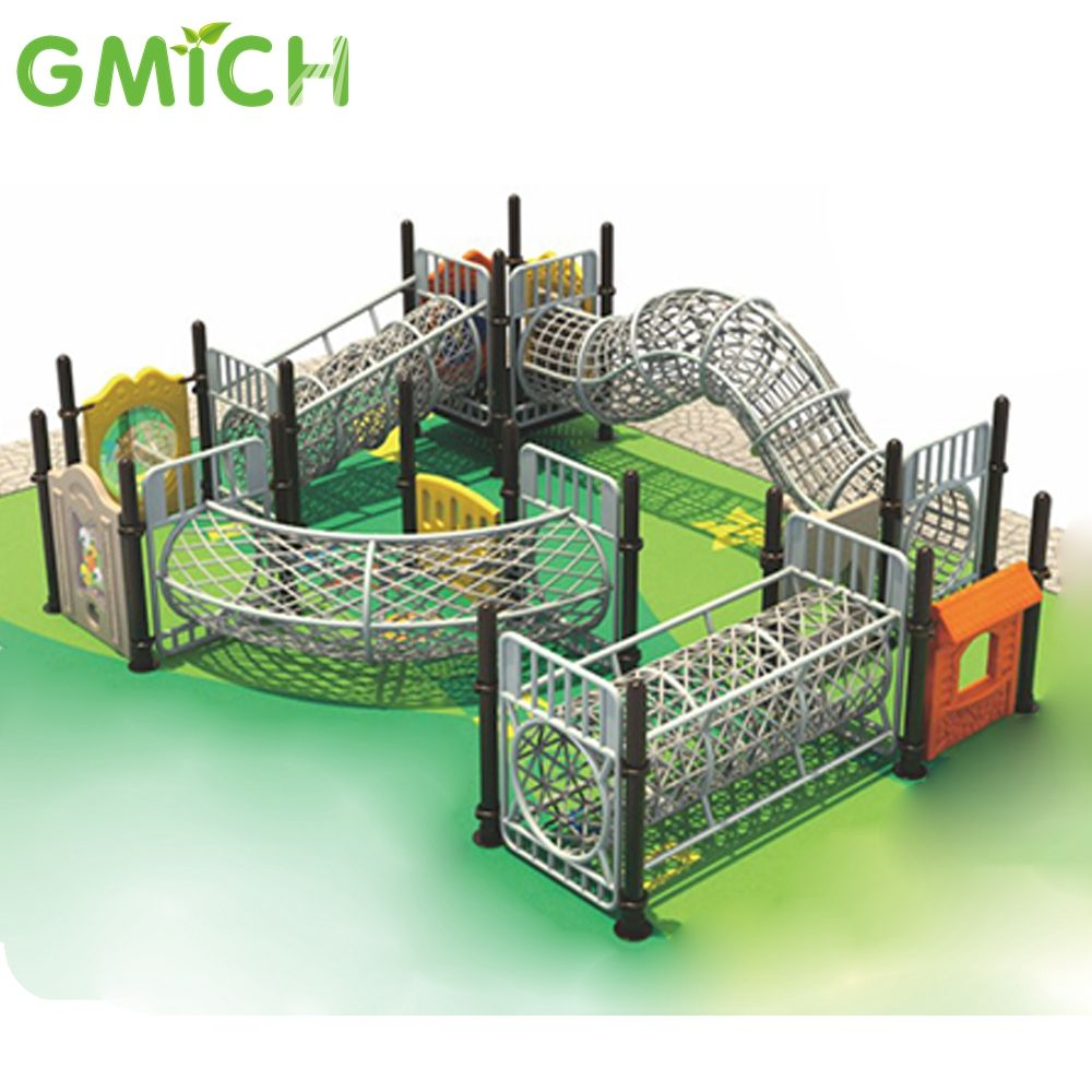 integrated and multifunctional kids play ground equipment
