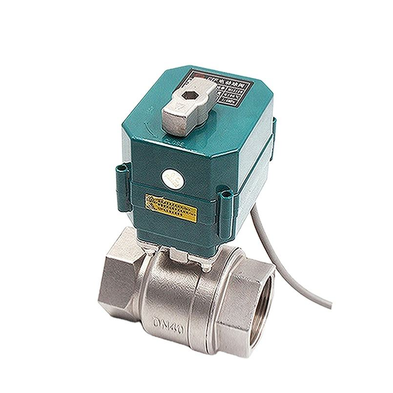 electric water valve motorized ball valve 2 inch stainless steel 50mm electric actuated motorized ball valve dn50 dn40 dn32 dn25