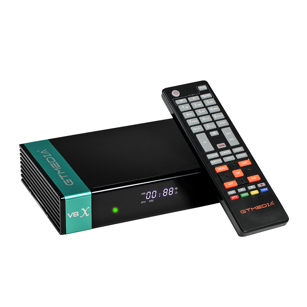 Nuovo Disegno GTmedia V8X <span class=keywords><strong>DVB</strong></span> S2/S2X H.265 IP/ TV Smart Card Forte TV Satellitare Decoder