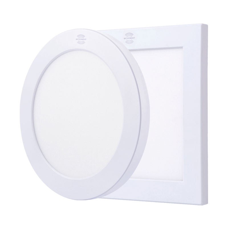 Surface or Embedded 9w 12w 18w 24w Cut Hole and CCT Adjustable Smart Led Panel Light