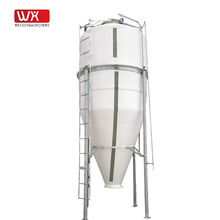 Modern farm equipment durable bulk feed tanks