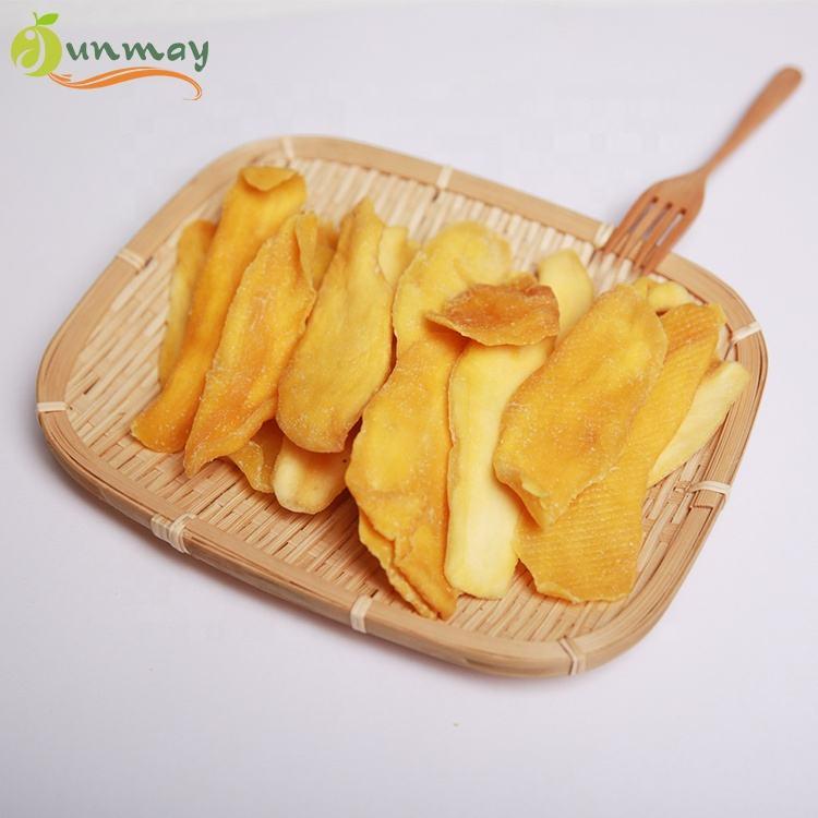 Fabrika kaynağı lezzetli kurutulmuş yumuşak kurutulmuş mango meyve gıda