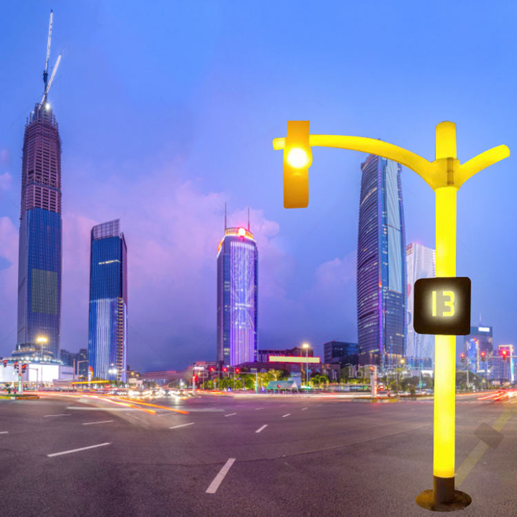 traffic light Solar traffic lights 2020 new design