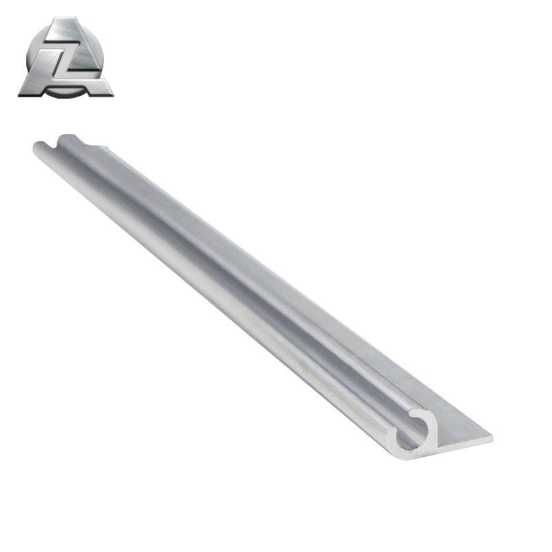 b2b marketplace aluminum single rail keder rails