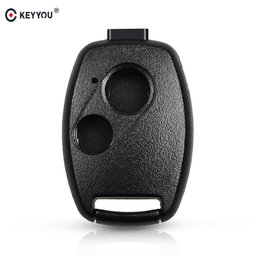 KEYYOU Remote Key Case เชลล์สำหรับ HONDA Accord Civic CRV Pilot 2007 2008 2009 2010 2011 2012 2013 2005รถ Key Shell