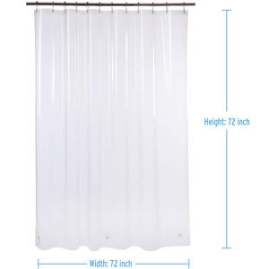 Wholesale PEVA bathroom Shower Curtain transparent curtain for bathroom fashion shower curtain