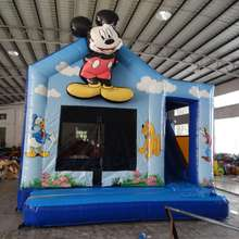 Commercial Mickey Mouse Clubhouse  Inflatable Bouncer Combo