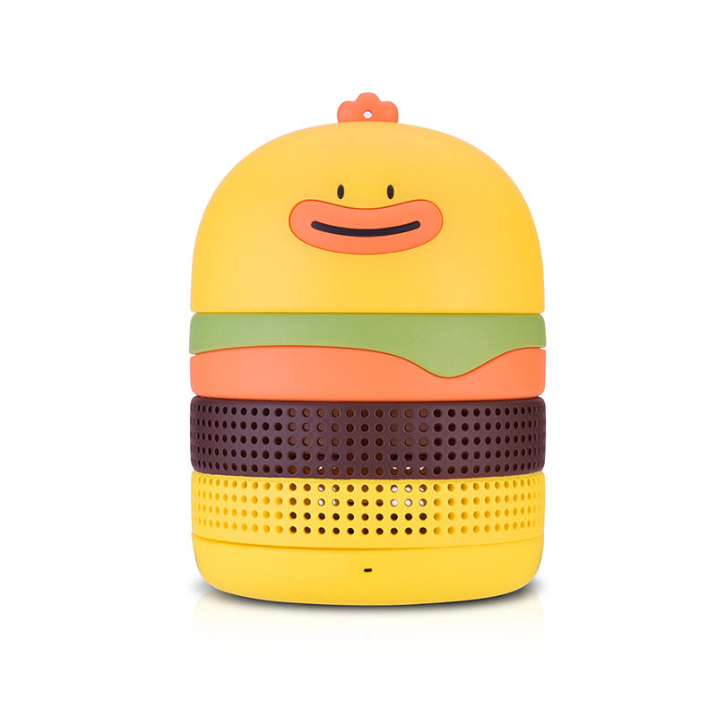 New arrival 2019 estilo moda mini speaker portátil sem fio para o happy