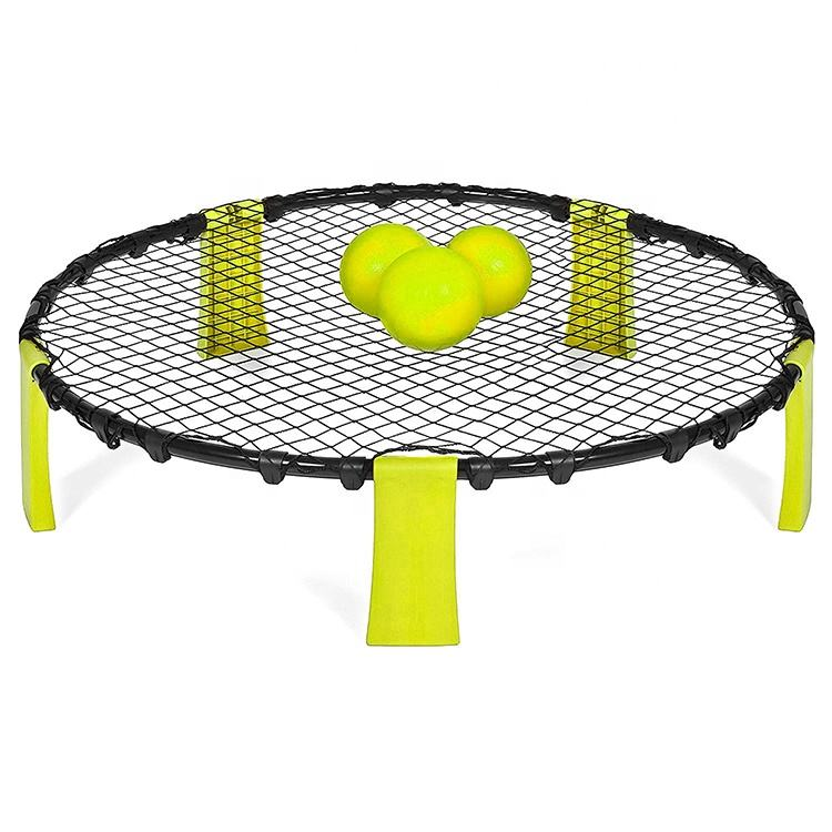 Hot Sell Outdoor Beach Picnic Grass Game Spikeball Rebound Jump Spikeball Game Set And Beach Volleyball Game Ball Set