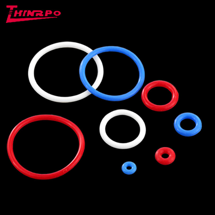 Non-standard silicone rubber sealing o ring/EPDM O-Ring seal /high temperature resistant Color Rubber O Ring manufacturer