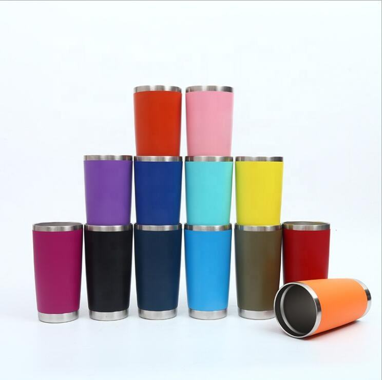 20 oz tumbler stainless steel tumbler wholesale 20oz travel double wall stainless steel insulated vacuum tumbler