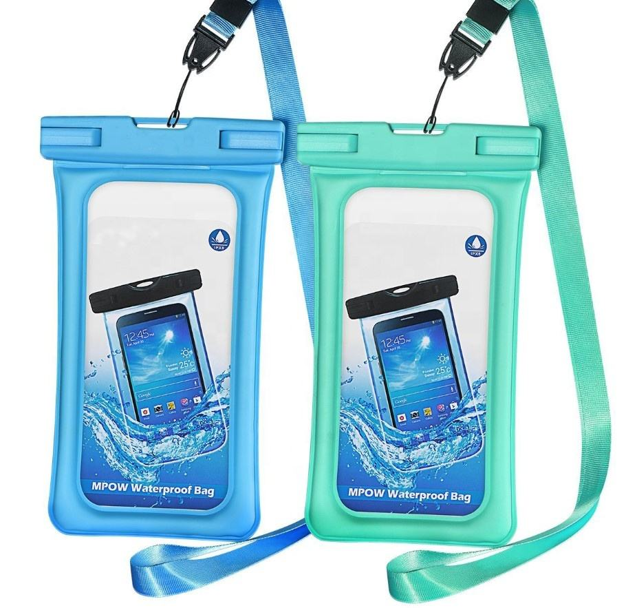 High quality waterproof mobile phone carry bag pvc waterproof phone bag case/water proof case cell phone for iphone X Xs Xr