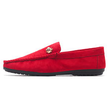 2020 Newest Mocasines Hombre Red Moccasins Loafer Shoes for Men
