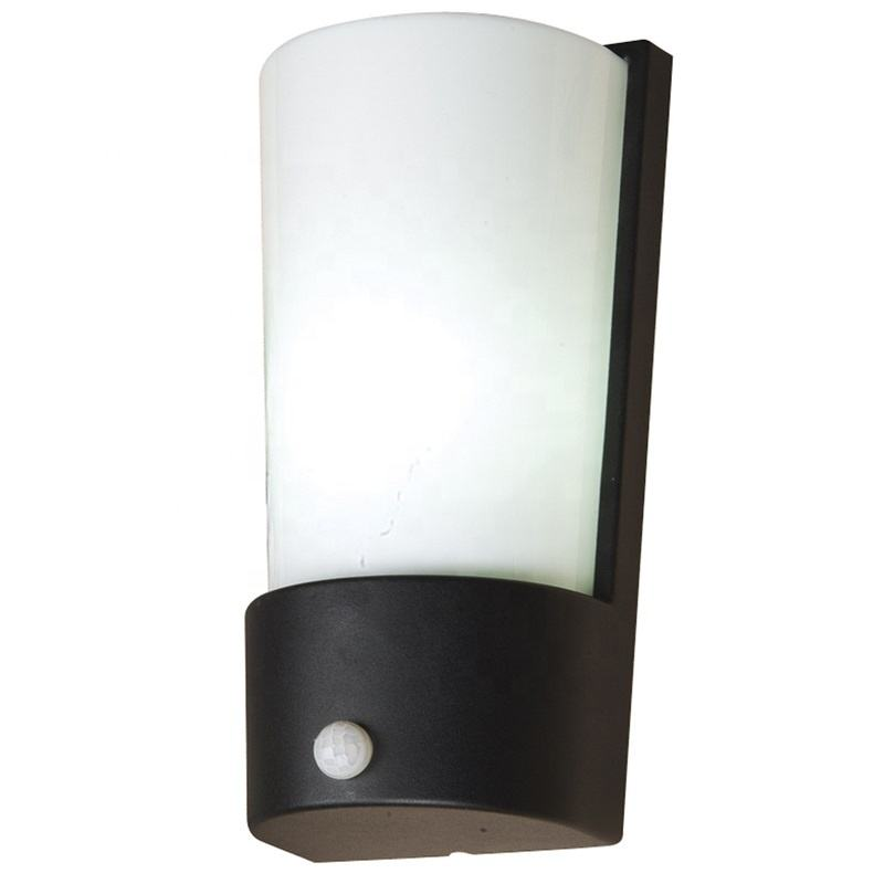 Premium Quality E27 With Sensor Outdoor Decorative IP44 Antracite Wall Light
