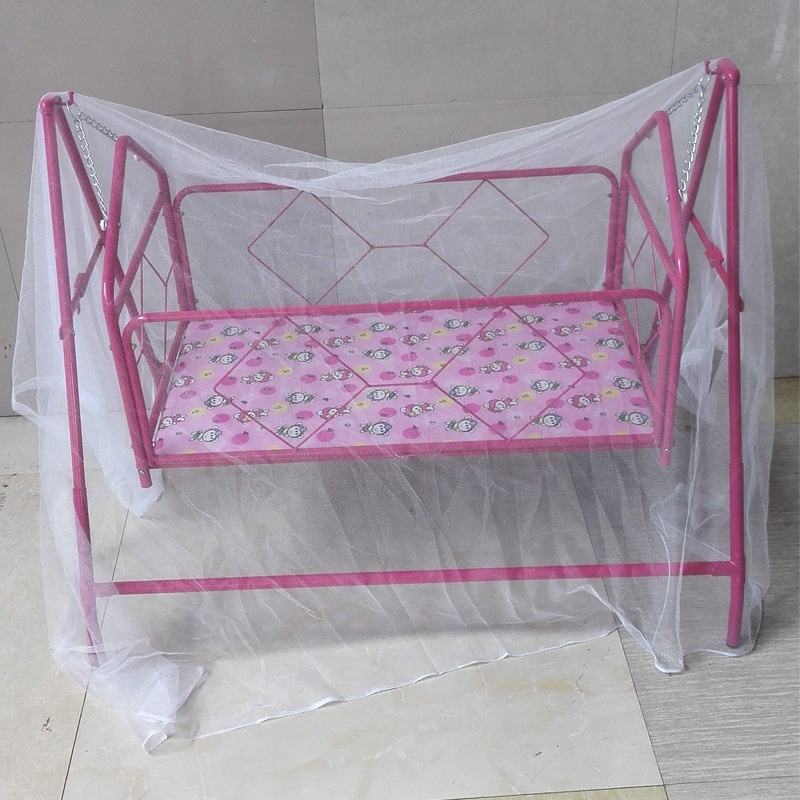 cute animal baby crib with electric automatic baby cradle swing bed
