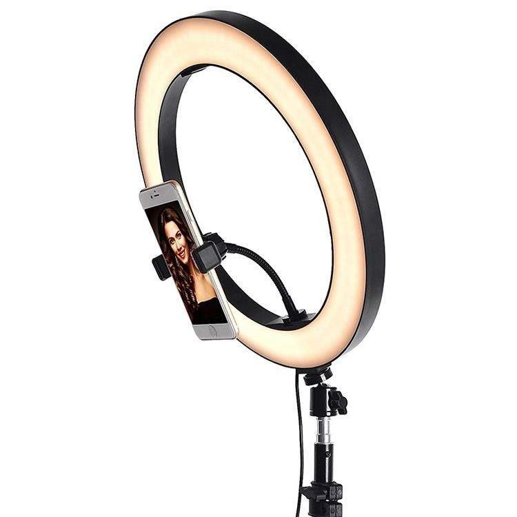 Ring light mobile phone bracket 360 adjustable H0Prw fill light video stabilizer selfie stick
