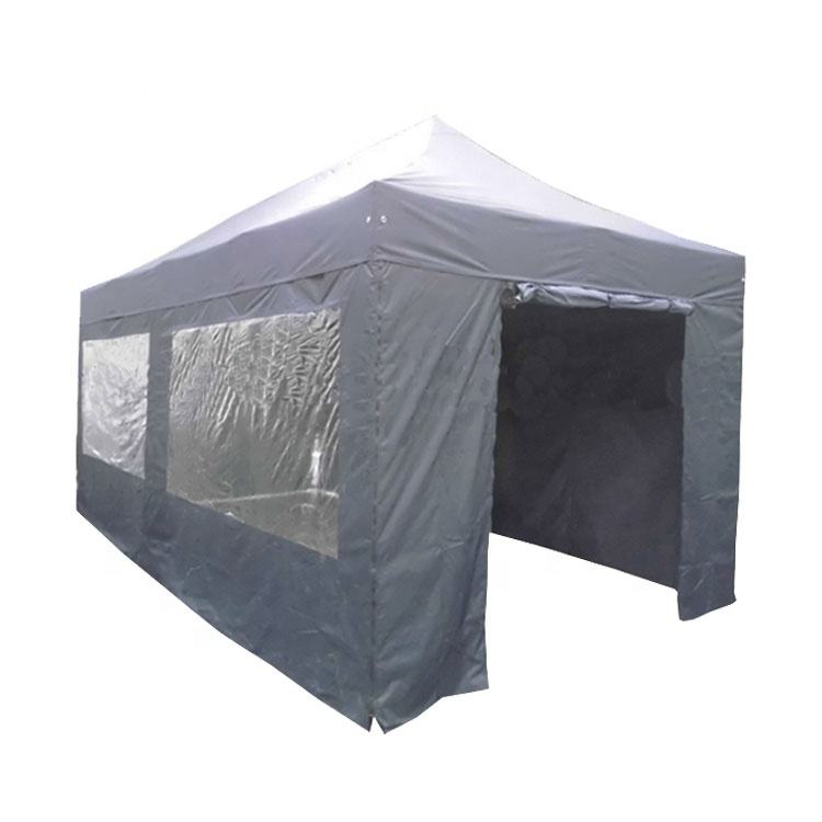 3x4.5m outdoor folding waterproof market tent shed portable canopy tent