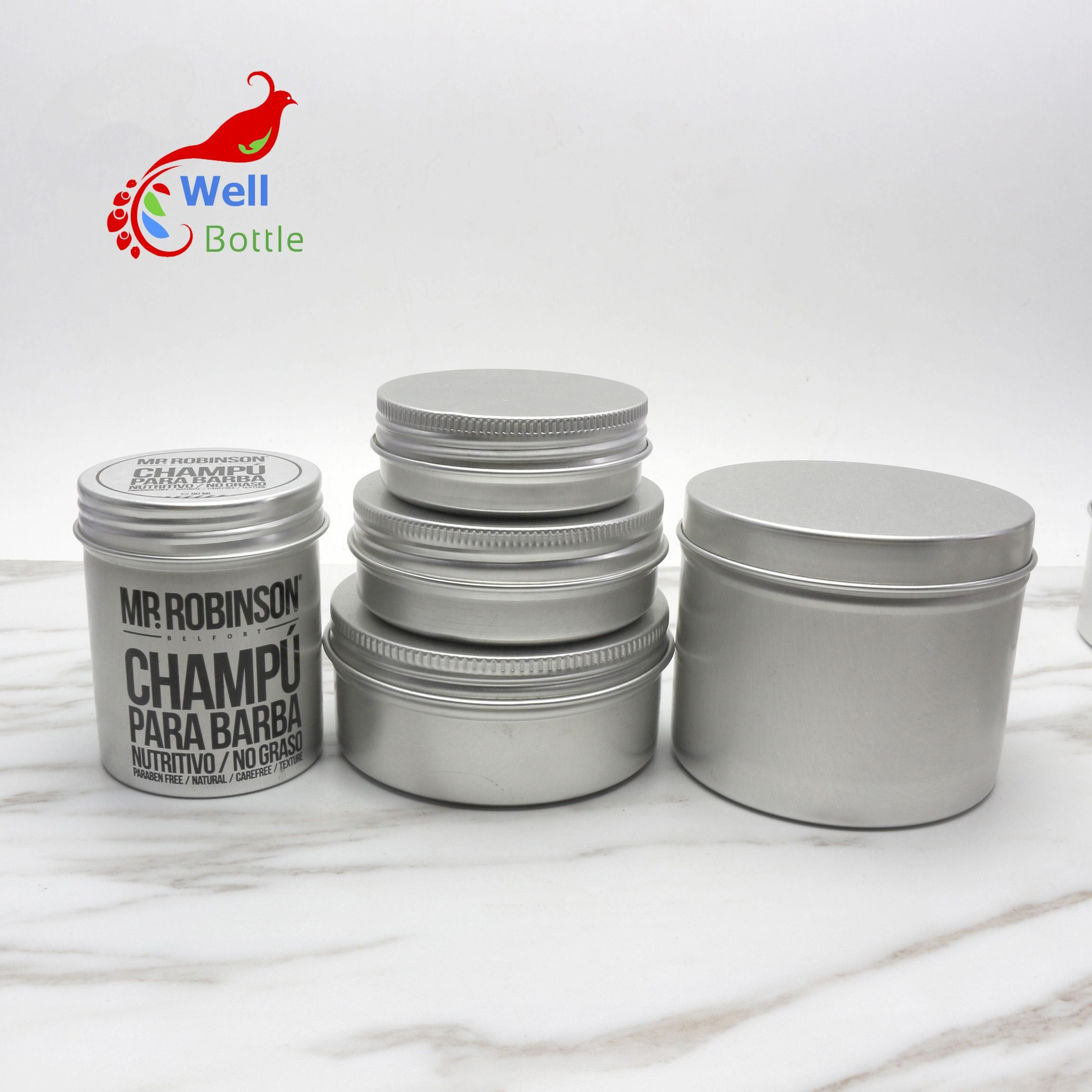bulk aluminum cans metal aluminum candle tea tin case box AJ-419C
