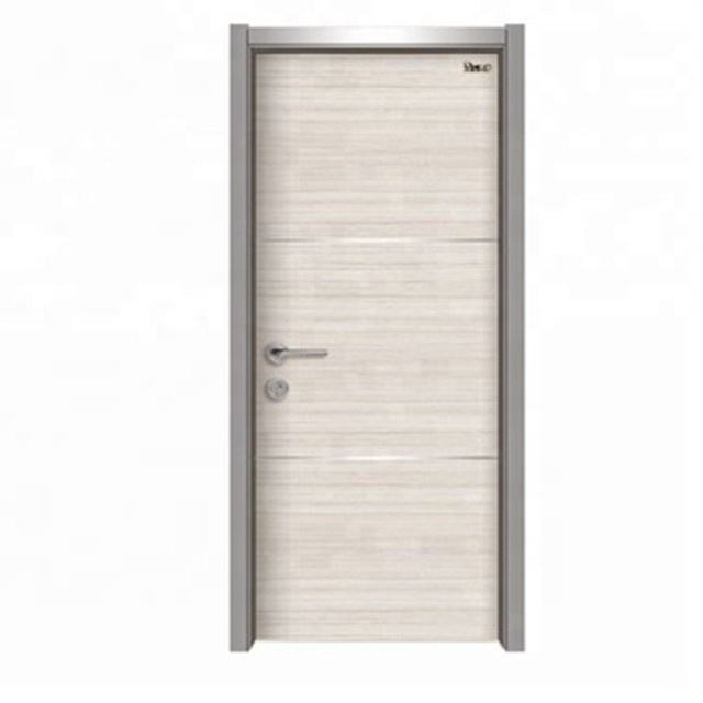 UL 20min hotel fire rated fire proof wood interior panel door