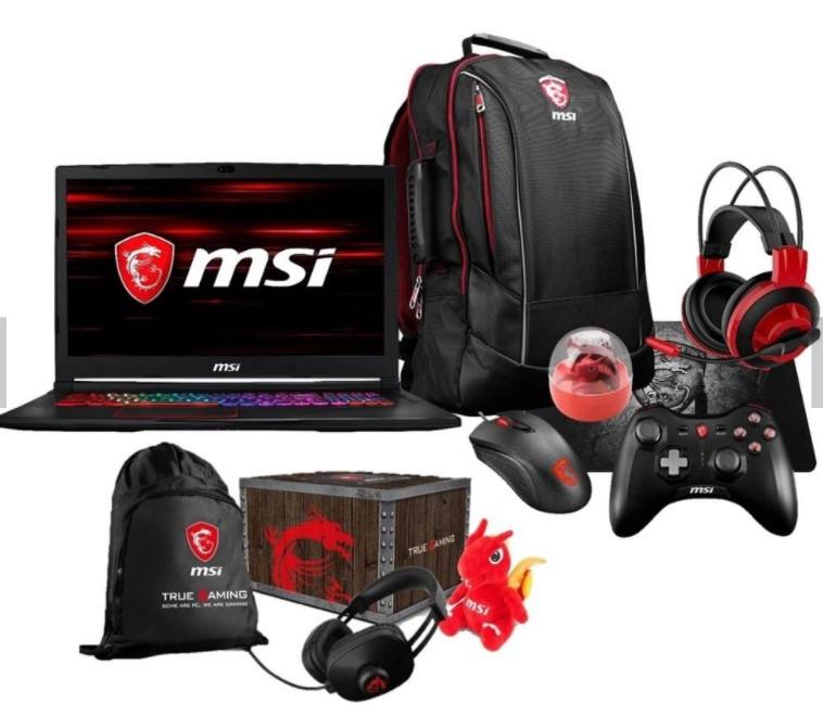 2019 Asli MSI Laptop Gaming GT73VR Tian Notebook I7-7820HK, GTX 1070, 16GB RAM 1TB HDD 256G-SSD